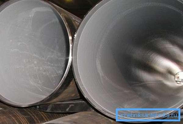 Стальные трубы с полимерным покрытием