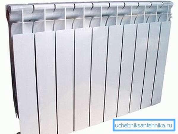 Стильный и эффективный биметаллический радиатор