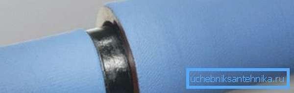 Стык с использованием уплотнительного кольца