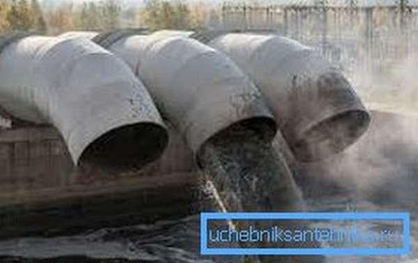 Существует множество разновидностей канализационных систем