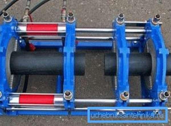 Сварка полиэтиленовых труб встык с использованием специального оборудования
