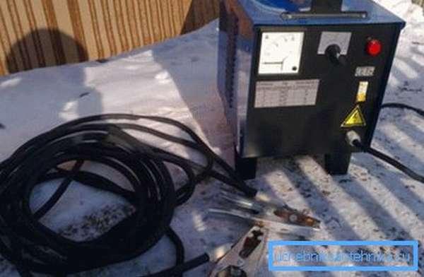 Сварочный аппарат готовый к использованию