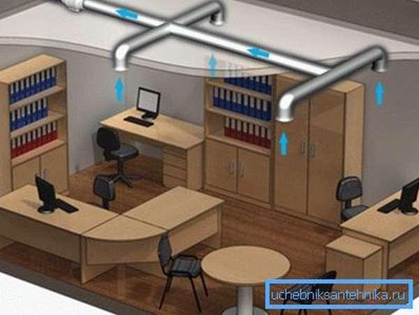 Свежий воздух нужен и в офисе