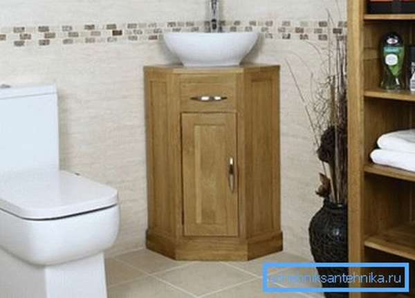 Такая конструкция может быть установлена в любой ванной или туалете