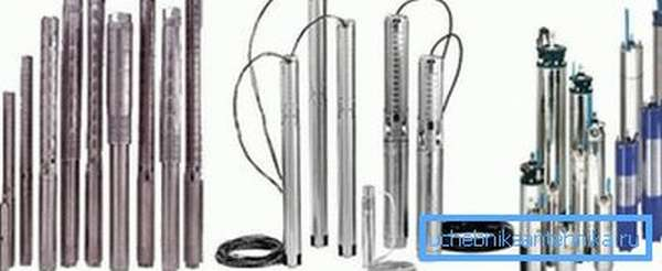 Такие насосы можно использовать для водозабора, как из колодцев, так и из скважин
