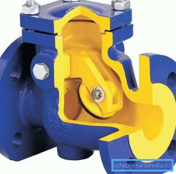 Такие системы чаще всего делаются в чугунном корпусе и применяются на системах с большими диаметрами