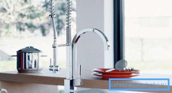 Такие смесители называются полупрофессиональными и используются как в квартирах, так и на предприятиях