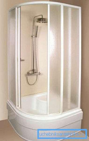Такое санитарно-гигиеническое устройство экономит площадь ванной.