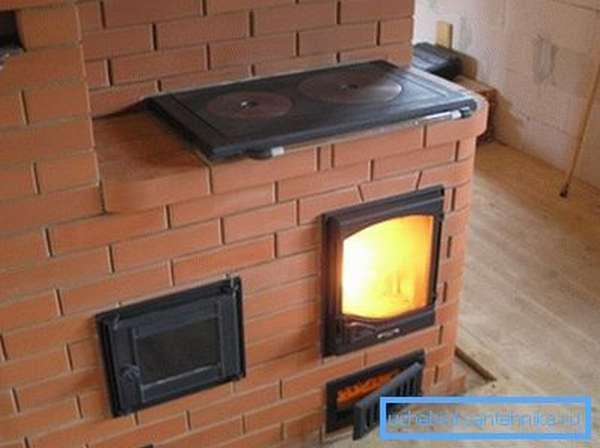 Такой агрегат обеспечит дачу теплом и даст вам возможность готовить еду.