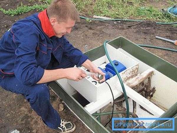 Техническое обслуживание станций биоочистки