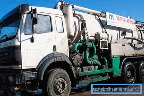 Техника для комбинированной прочистки канализации