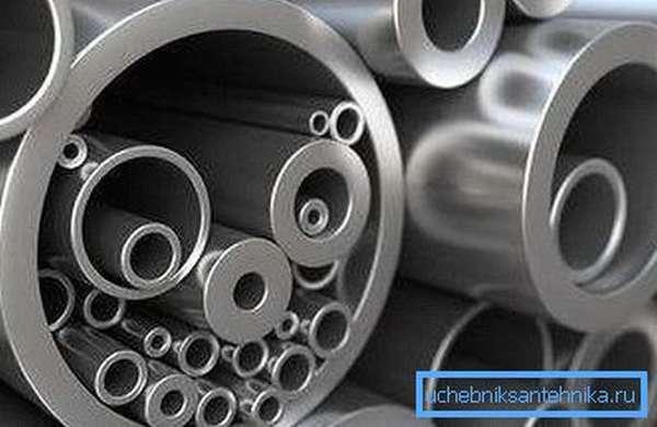 Технология позволяет производить трубы разного диаметра