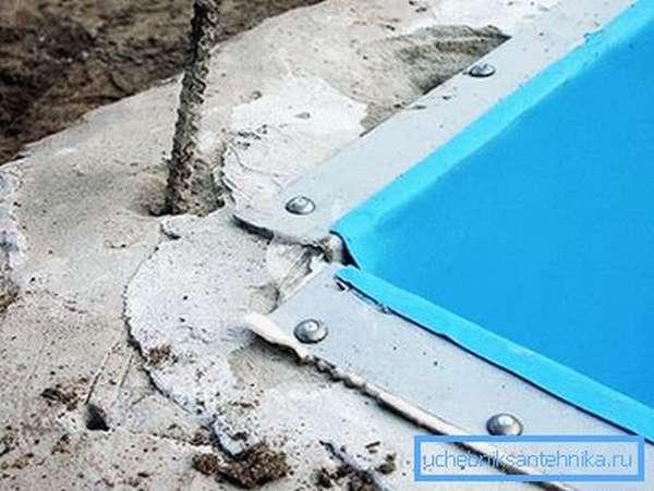 Технология внешней гидроизоляции