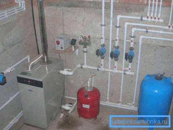 Тепло в доме зависит от правильности монтажа и периодического обслуживания системы обогрева
