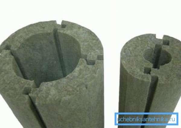 Теплоизоляция из минеральной ваты для дымохода