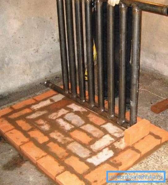 Теплообменники отопления для дачи чаще всего изготавливают из стальных труб