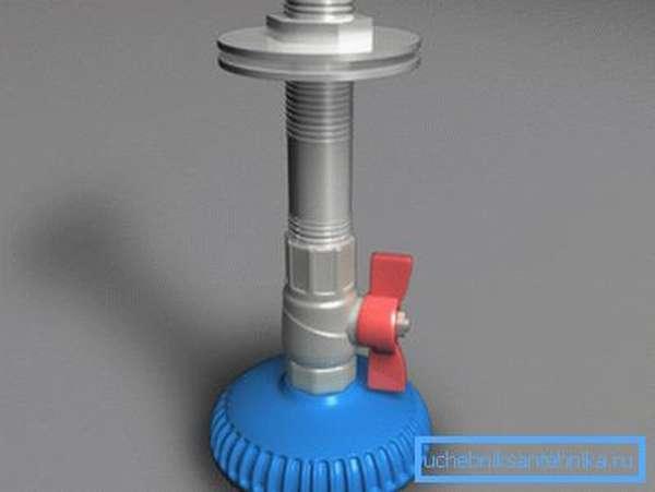 Типовое водорассеивающее устройство для летнего душа на даче.