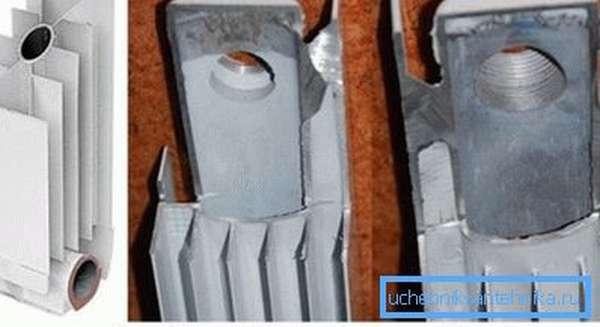Типы алюминиевых батарей