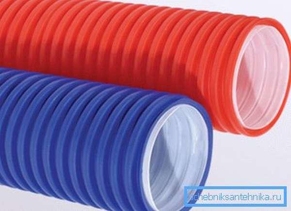 Трубы ДКС для электропроводки из поливинилхлорида