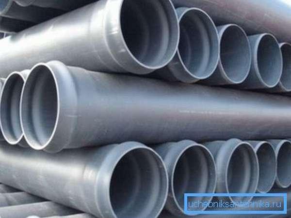Трубы из полипропилена для наружного трубопровода