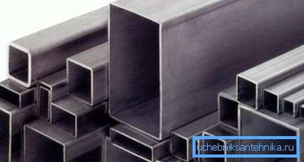 Трубы квадратного сечения – популярный строительный материал