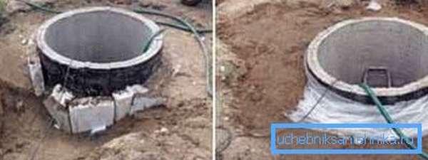 Тщательная гидрозащита сверху не исключает и укладки глиняного замка