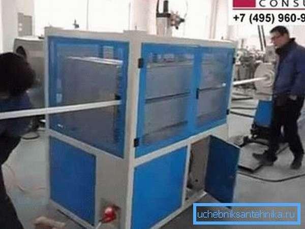 Цеховое оборудование для производства полипропиленовых труб и фитингов