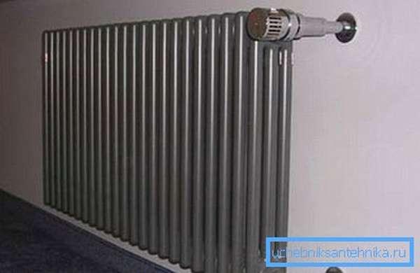 Цельный стальной радиатор