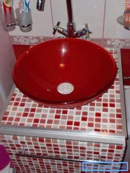 Тумбочка под раковину в ванной своими руками по индивидуальным параметрам