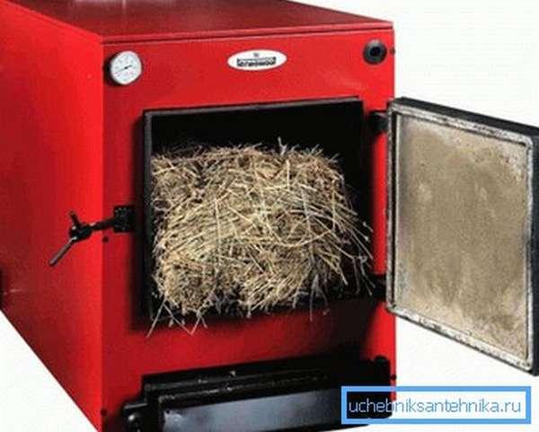 Твердотопливные устройства в принципе работают на всем, что горит