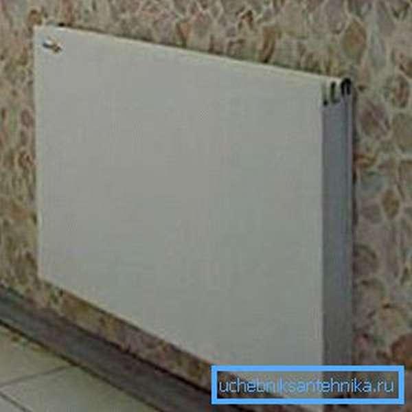 Удобный настенный инфракрасный радиатор