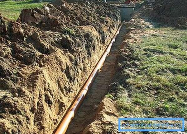 Укладка и монтаж канализационных труб