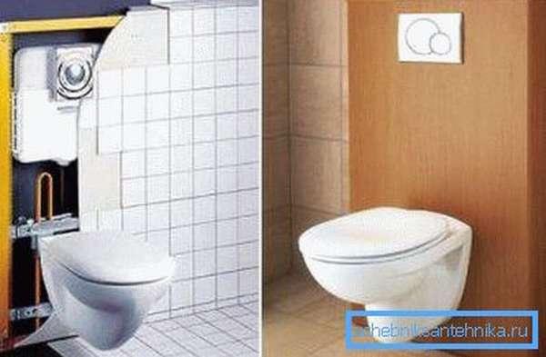 Унитаз со скрытой системой слива – отличное решение для туалетной комнаты