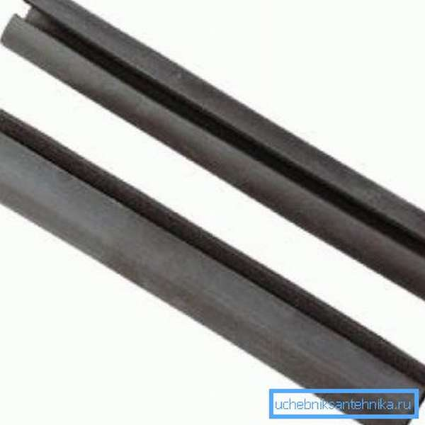Уплотнительная резинка для мойки, которую также можно использовать в качестве торцевых соединителей