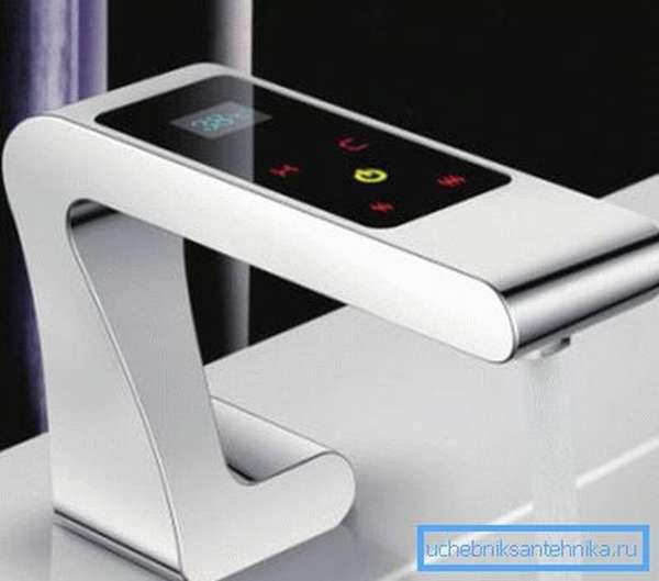 Установив такой аппарат, мы сможем легко подобрать нужную температуру воды
