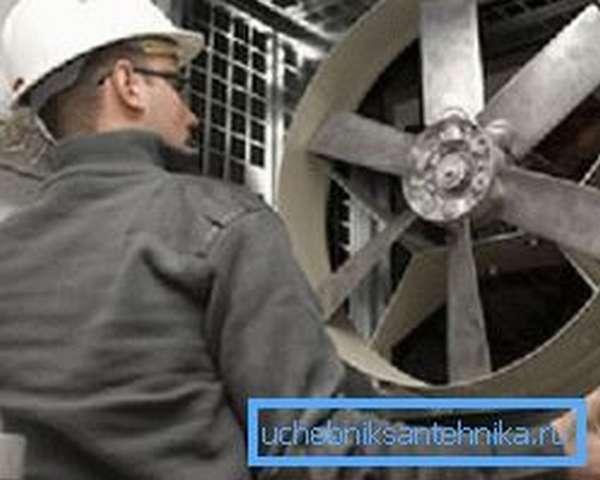 Установка и регулировка вентилятора