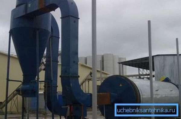 Установка по производству биотоплива в виде брикетов