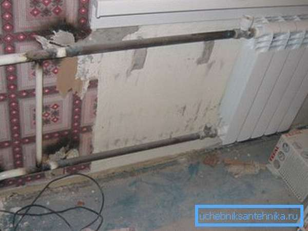 Установка таких радиаторов оправдана только в сетях с высоким давлением.