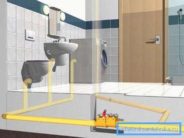 Установленный канализационный клапан гарантирует отсутствие неприятных запахов и последствий возможных аварий