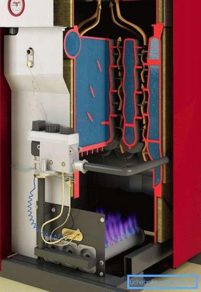 Устройство агрегата с напольным расположением