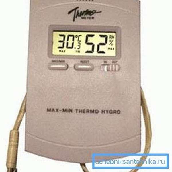 Устройство для измерения влажности в инкубаторе