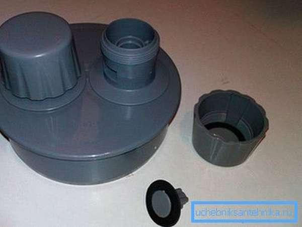 Устройство вакуумного клапана канализации