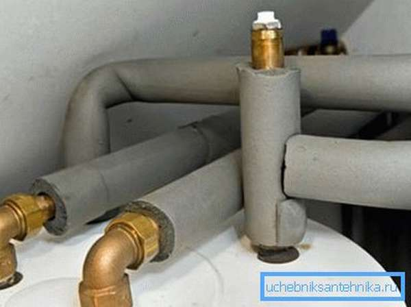 Утепленные трубы для отопления уменьшают затраты