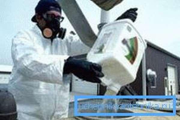 Утилизация токсинов проводится специалистами