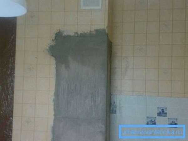 В этом примере незадачливым строителям пришлось восстановить вентиляционный короб