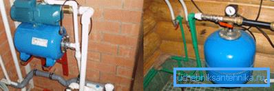 В одной системе водоснабжения может устанавливаться несколько гидроаккумуляторов.