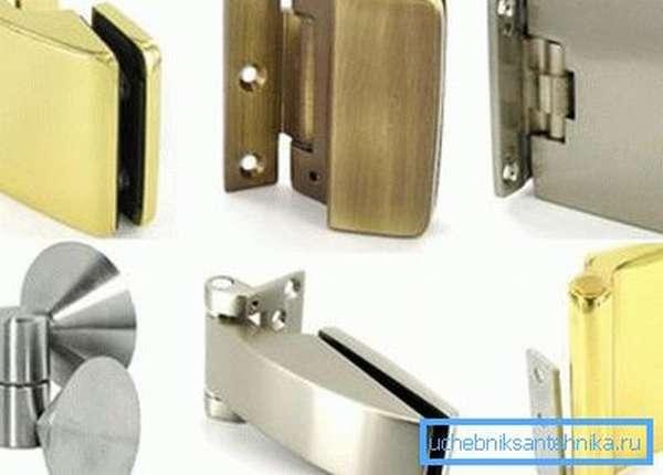 Варианты петель для деревянных дверей