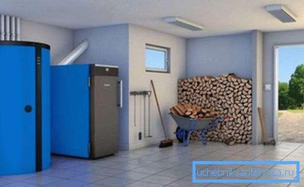 Важно обеспечить сухое помещение для хранения дров.