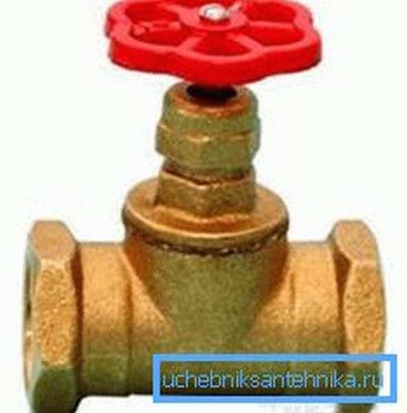 Вентиль для водопровода