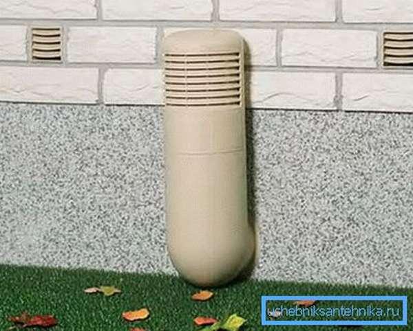 Вентиляция подвала дома из пластиковых труб